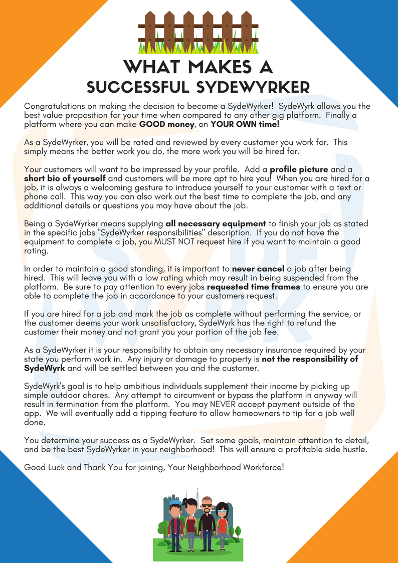What Makes A Successful SydeWyrker